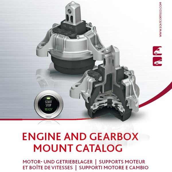 Corteco: Corteco publishes new engine mount catalogue 2018/2019